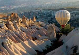 Каппадокия - нестандартный отдых в Турции