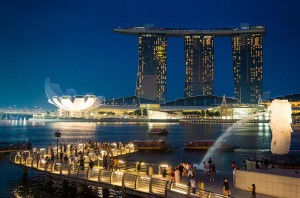 «Бананово - лимонный» Сингапур