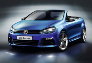 VW Golf в кузове кабриолет