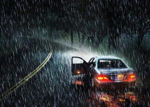 Как нужно вести себя в плохую погоду