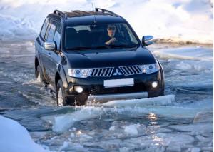По дорогам и болотам Mitsubishi Pajero Sport второго поколения