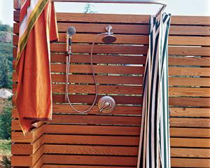 Как построить летний душ на дачном участке