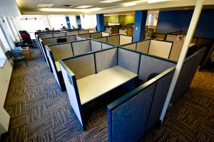 Какие бывают офисные перегородки