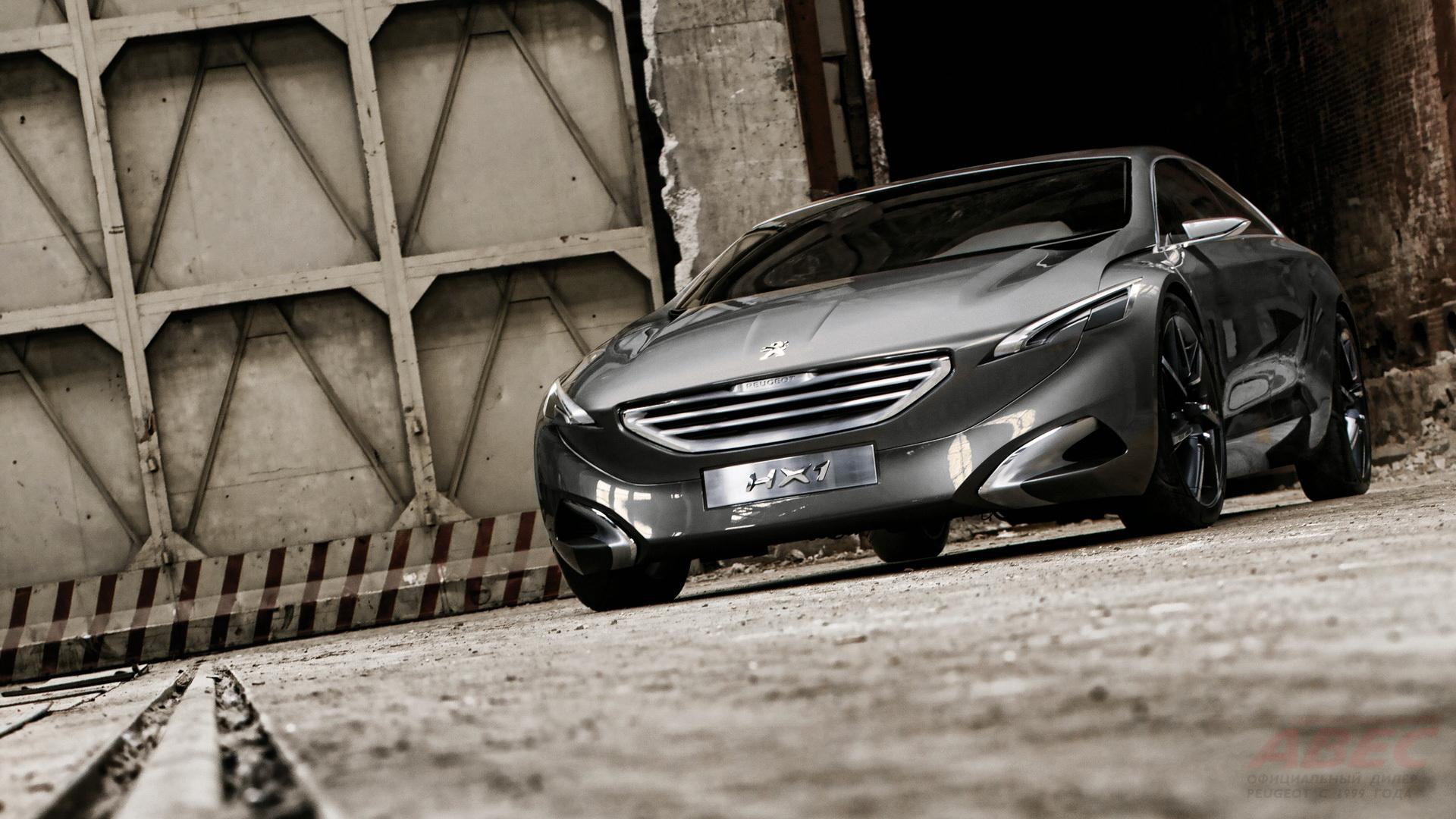 Peugeot HX1 Concept с гибридной силовой установкой