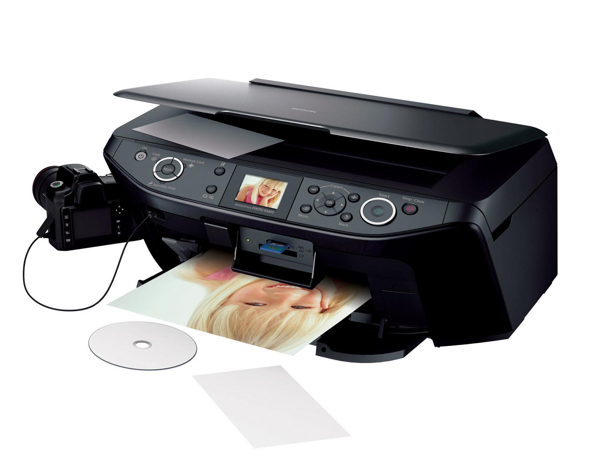 Струйный принтер для дома и офиса