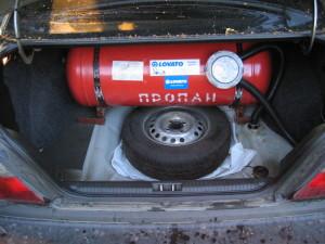 Газобаллонное оборудование на машину
