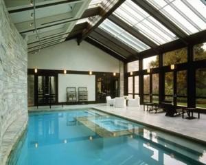 Ландшафтный дизайн, уход за бассейном