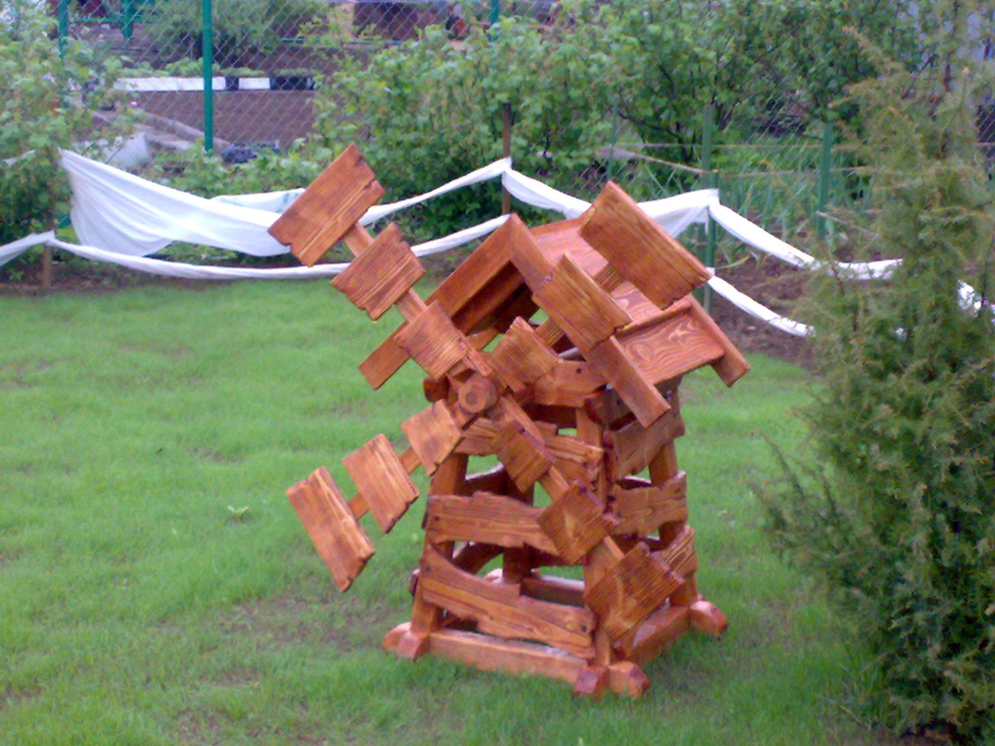 Легкокрылая мельница в вашем саду