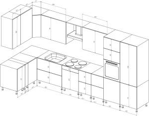 Обмер кухни
