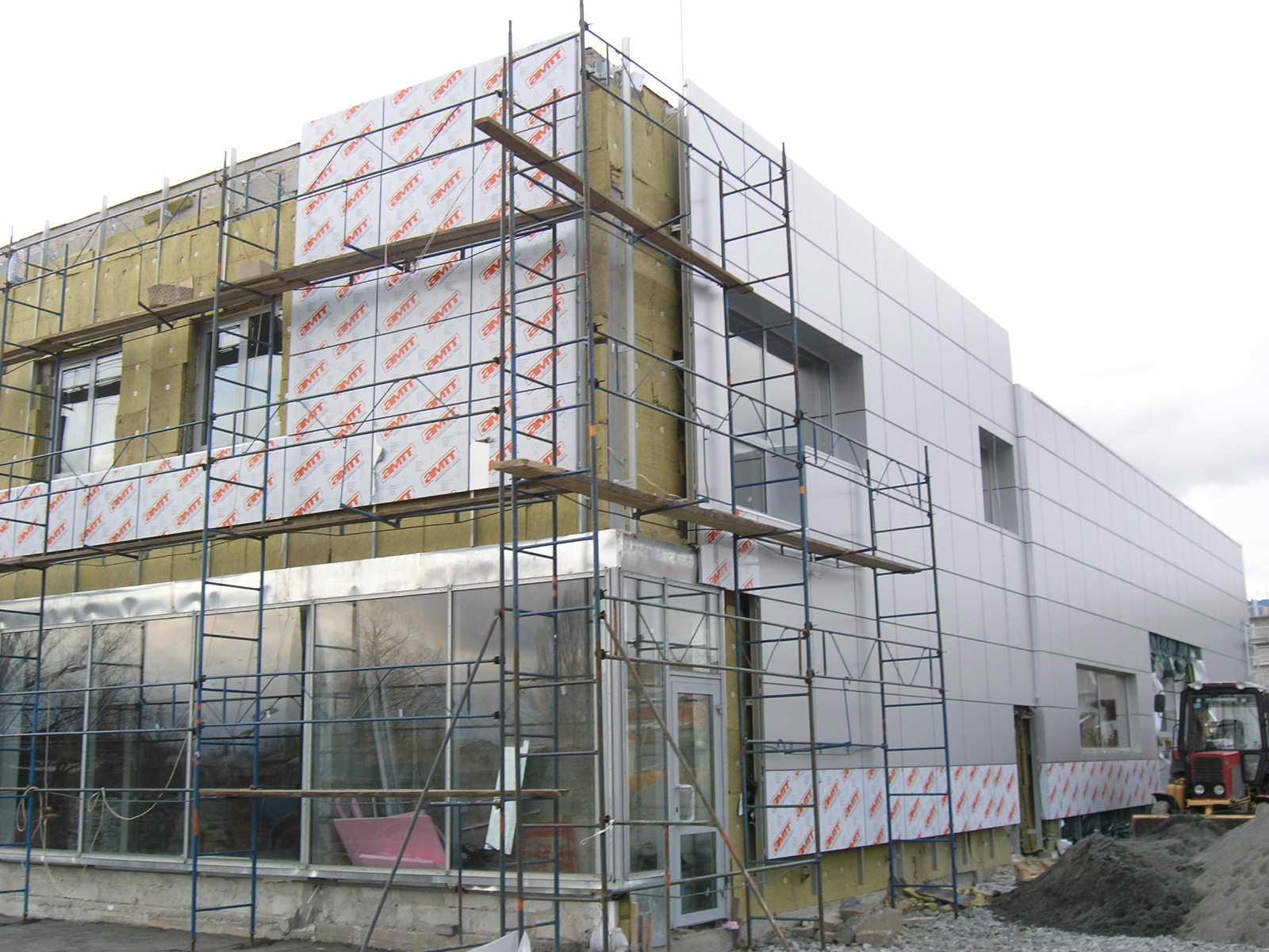 Особенности выбора фасадных систем