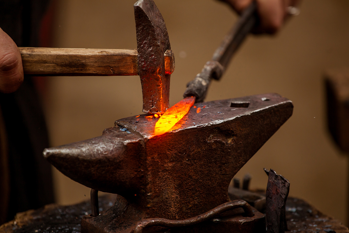Старинные техники работы с металлом