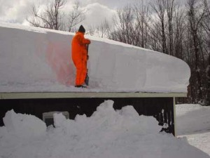 Уборка снега как гарантия безопасности населения