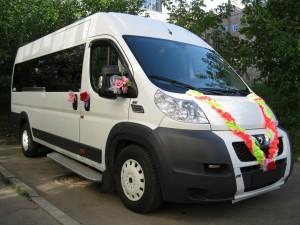Аренда автомобилей, микроавтобусов для свадеб