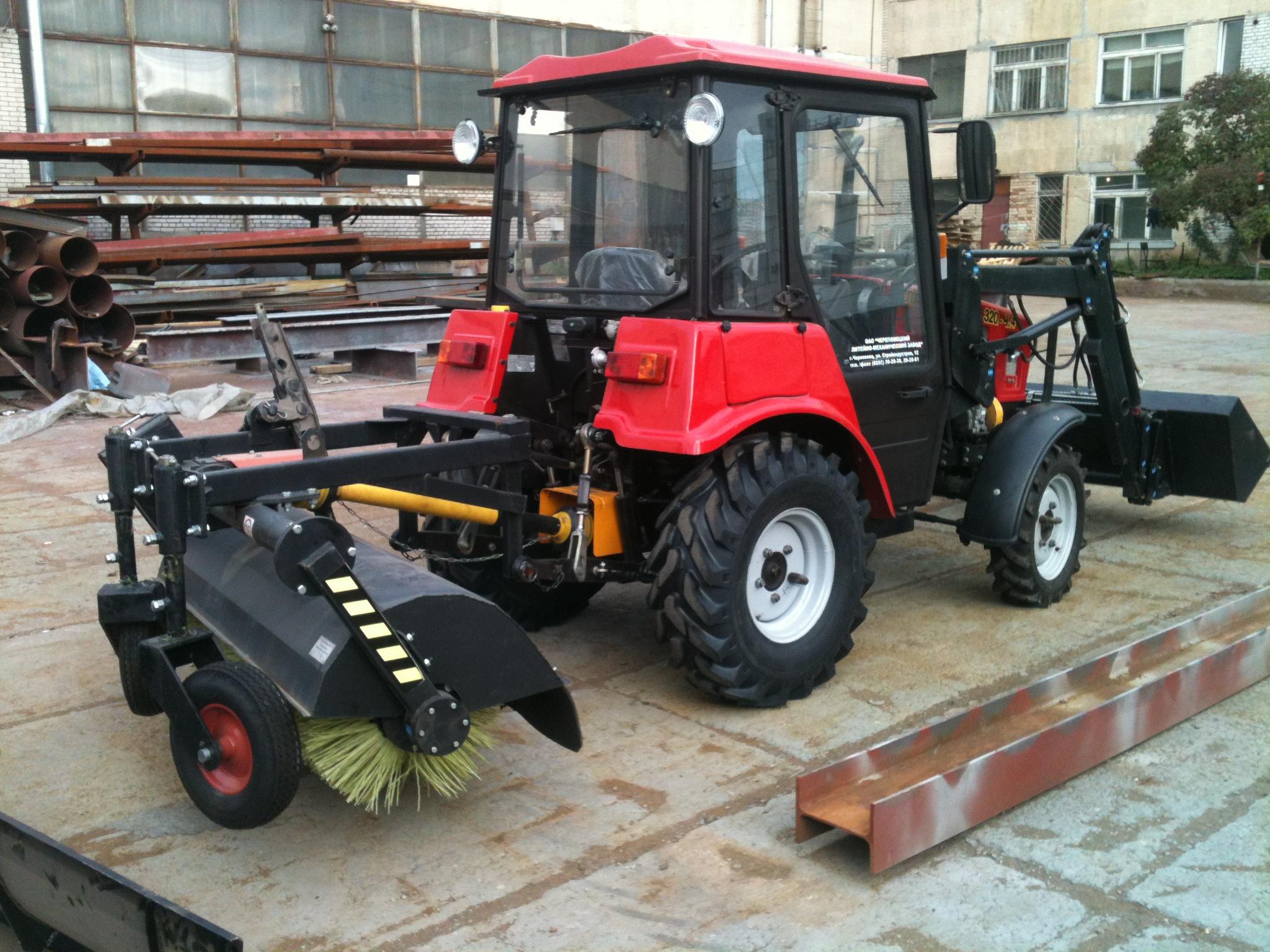 Аренда спецтехники: трактор трактору рознь
