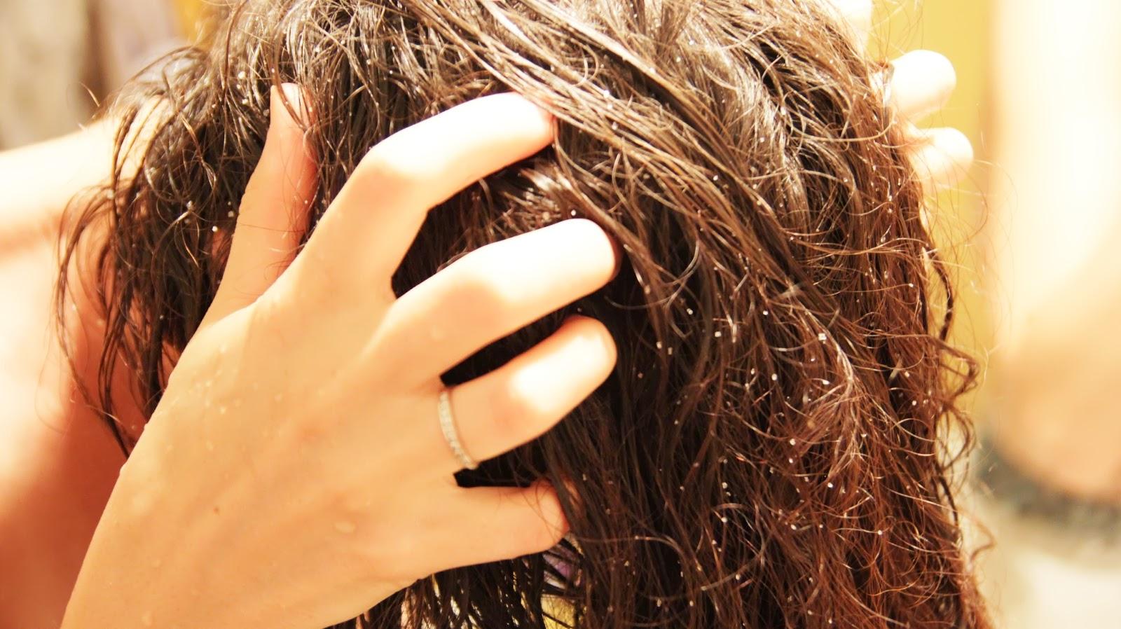 Как укрепить волосы солью