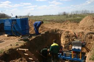 Прокладка газопроводов методом горизонтального бурения