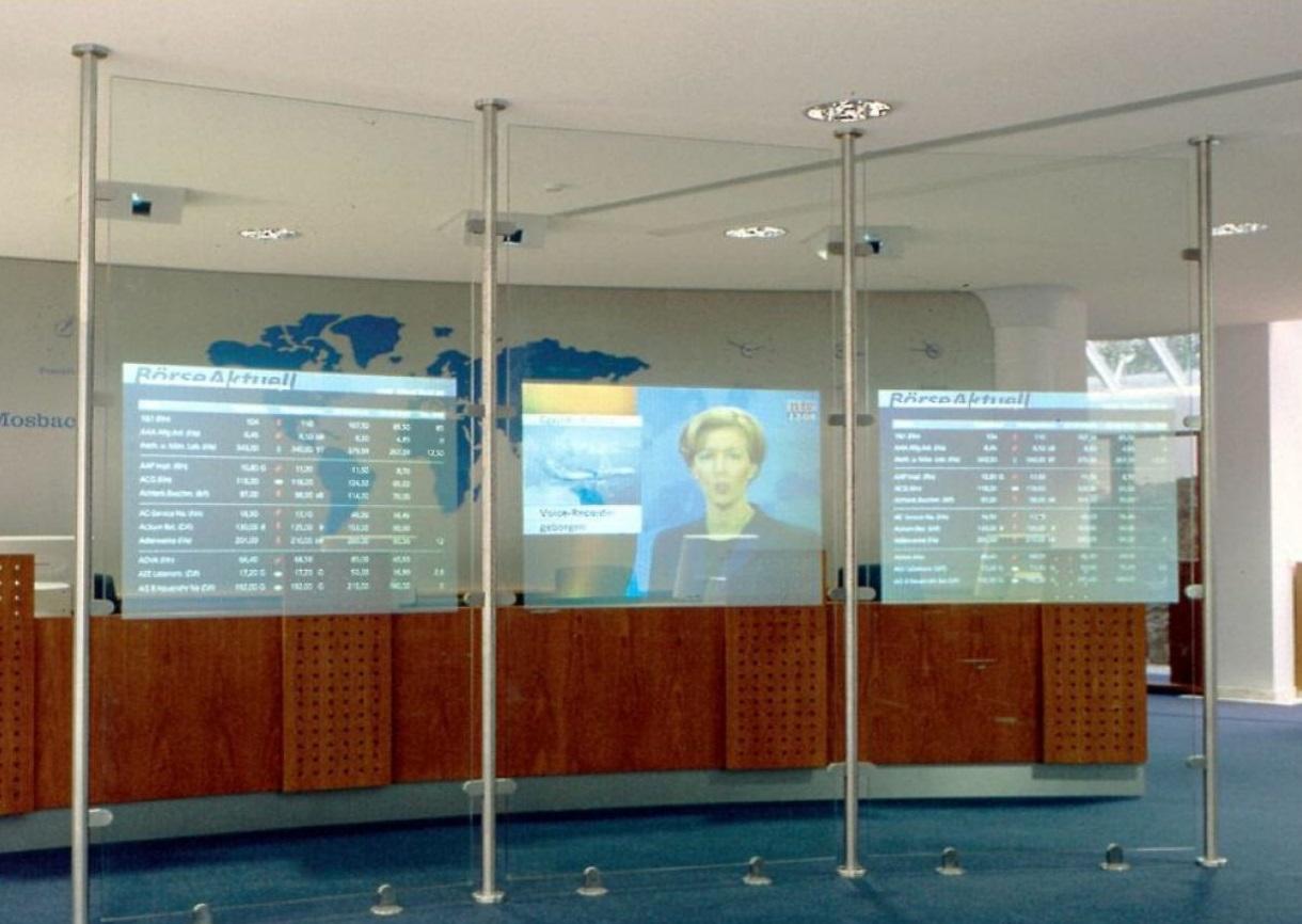 Современный проекционный экран