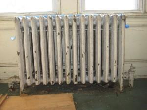 Демонтаж радиаторов
