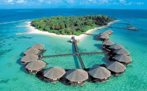 «Гирлянда островов» - Мальдивы