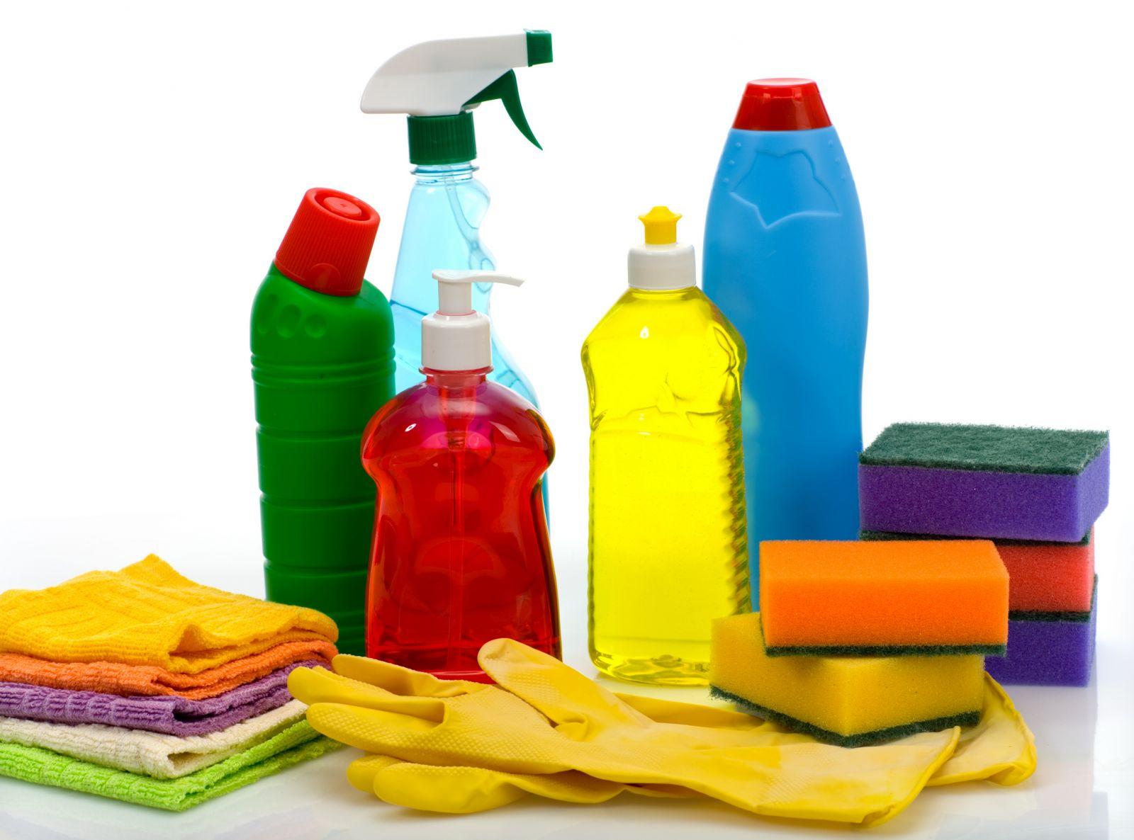 Насколько токсичны чистящие средства