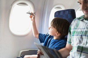 Полёты на самолёте с малышом