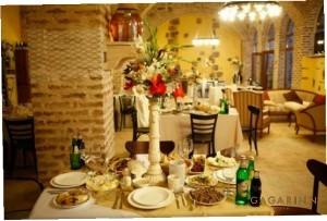 Ресторан в отеле GAGARINN