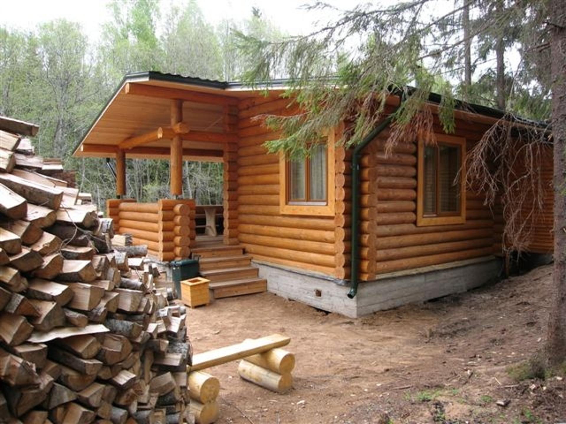 Строим русскую национальную деревянную баню