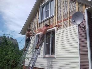 Утепление кирпичного дома своими руками