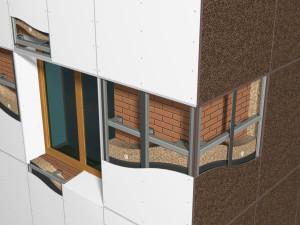 Вентилируемые фасады — современное решение