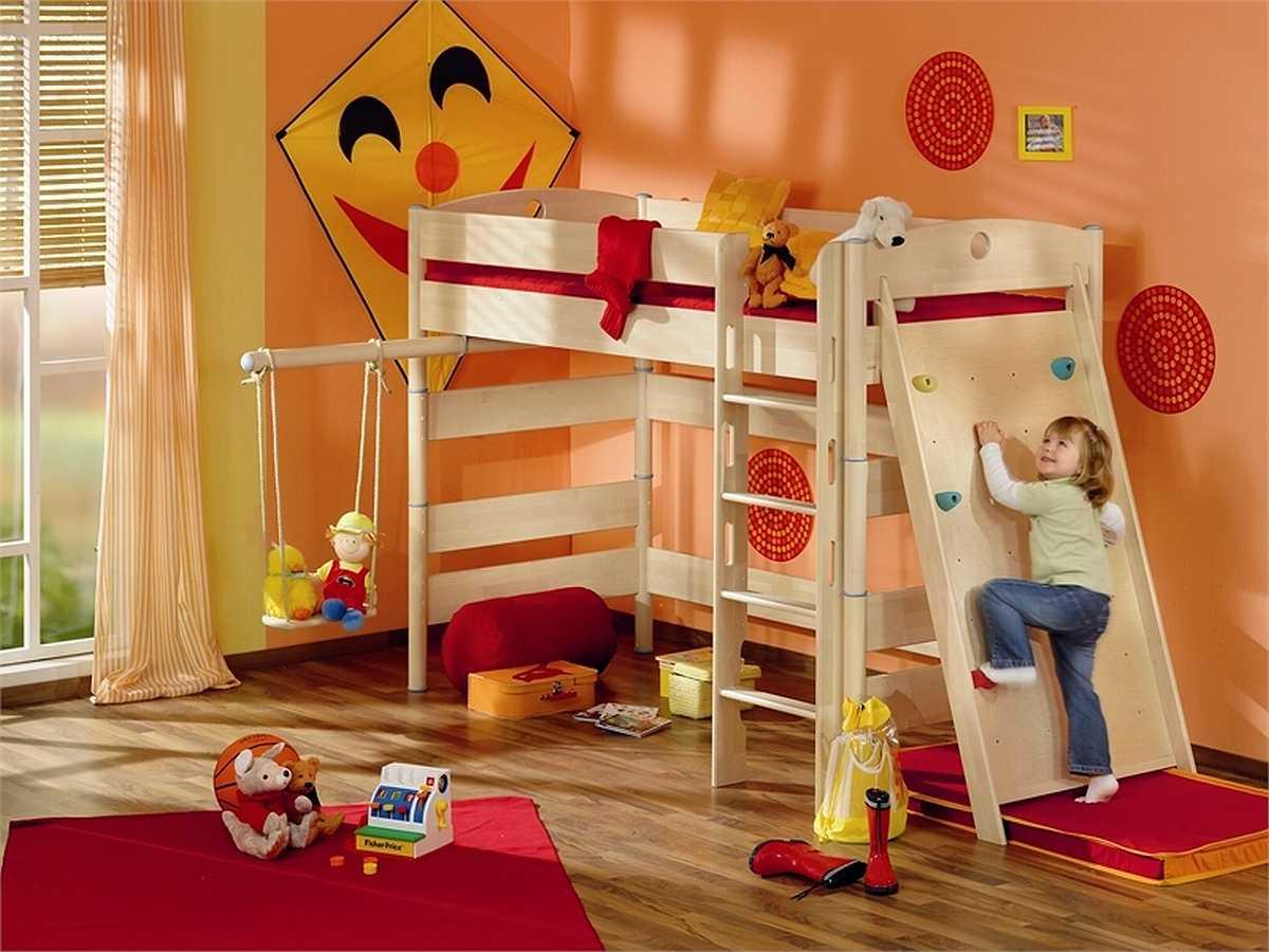 Делаем ремонт в детской комнате