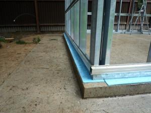 Фундамент при строительстве гаража
