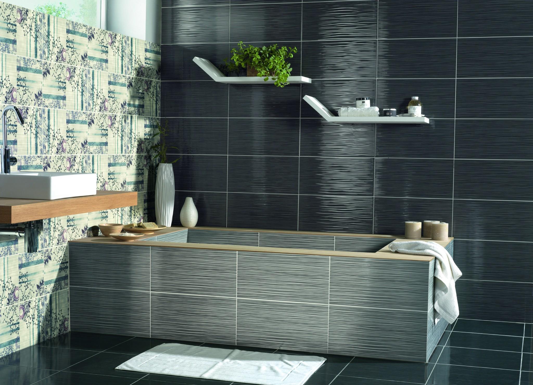Какую плитку подобрать для ванной комнаты