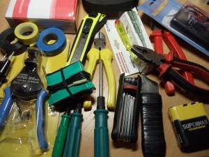 Комплект инструмента домашнего мастера