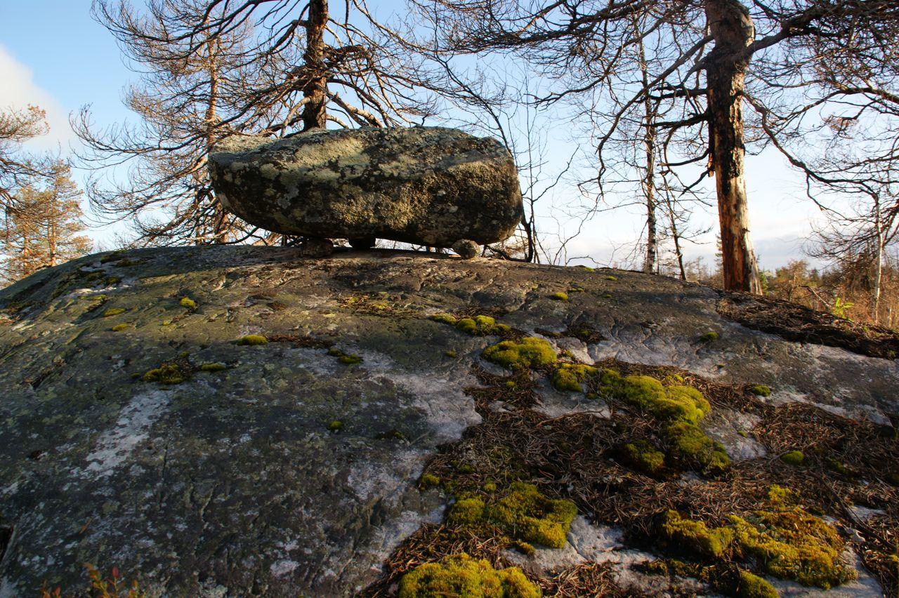 Мегалиты Карелии, гора Воттоваара, интересные места