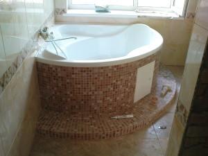 Монтаж гидромассажной ванны