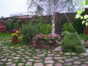 Мощеные площадки в вашем саду