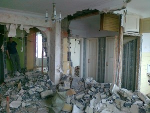 О демонтаже стен