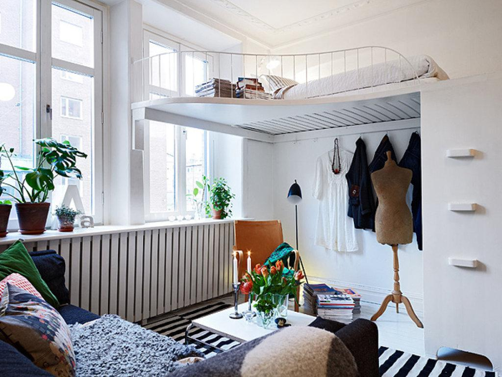 Оптимизация пространства в спальне в условиях малогабаритных квартир