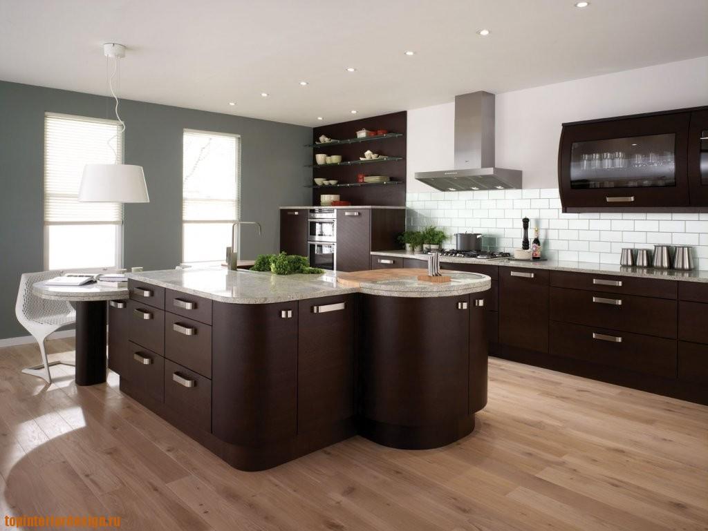 Островной вариант планировки кухни