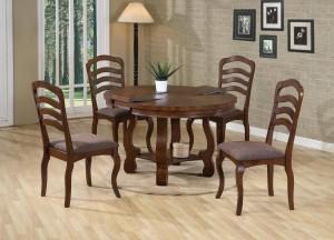 Прямоугольные и круглые формы кухонного стола