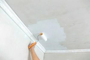 Ремонт. Покраска потолка