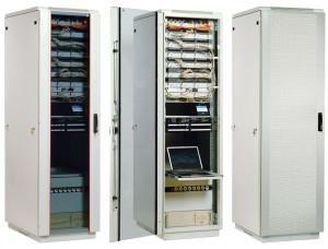 Сфера применения телекоммуникационных шкафов и стоек
