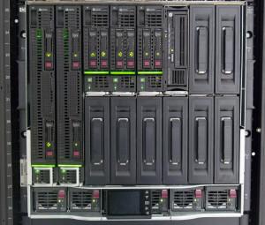 Современные блейд-системы в 19-дюймовых телекоммуникационных стойках