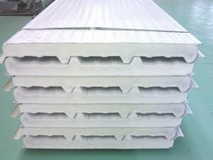 Стеновые пенополиуретановые металлические панели