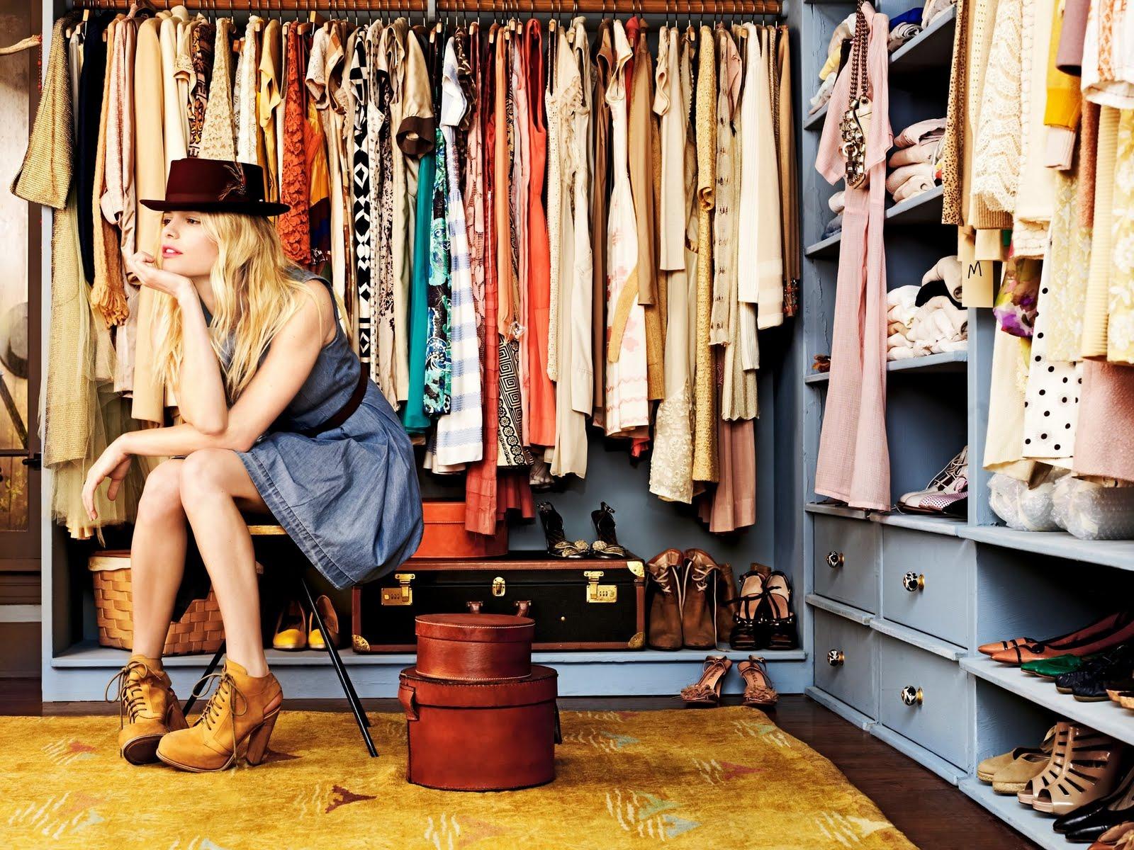 Три вида конструкций для создания гардеробной