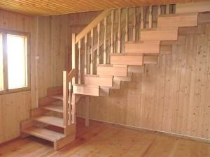 Устройство лестницы в доме и выбор материала