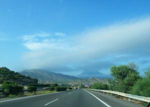В путешествие на машине по Испании