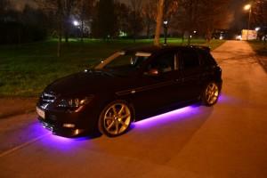 Как установить неоновые и светодиодные огни под автомобиль