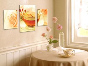 Картины в оформлении кухни