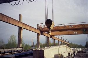 Кран-балка  (мостовой кран) и его разновидности